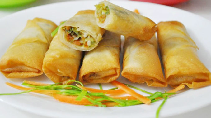 Vegetable-Spring-Roll